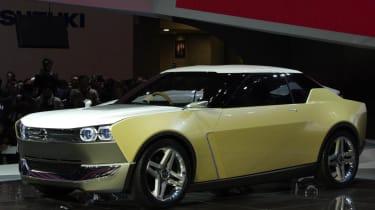 Nissan IDx Freeflow front