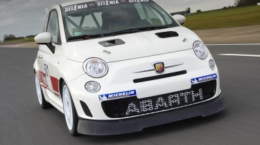Abarth 500 Trofeo racing car