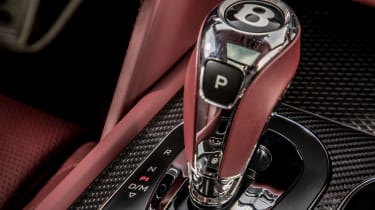 Bentley Bentayga V8 – gear lever