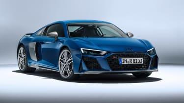 Audi R8 facelift - front static