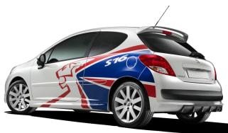 Peugeot 207 S16 rear