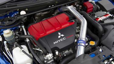 Mitsubishi Evo X FQ-400 engine