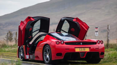 Ferrari Enzo evo rear 3