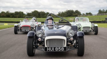 Caterham Seven SuperSprint on track