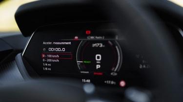 Audi e-tron GT quattro – dial pack