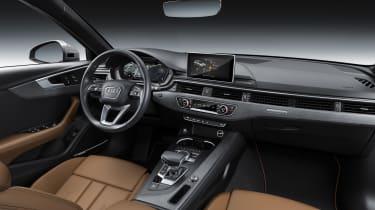 Audi A4 refresh 2018 - dash
