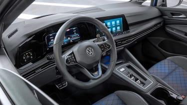Mk8 Volkswagen Golf R – steering wheel
