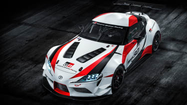 Toyota Supra GRMN - front