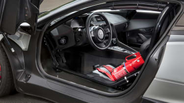 2013 Jaguar C-X75 prototype interior