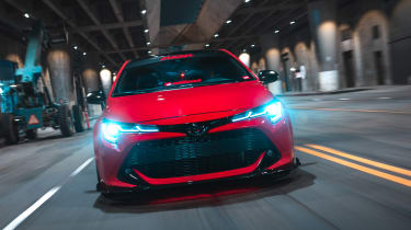 Toyota Corolla SEMA concept - nose