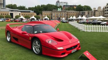 London Concours 2018 - F50
