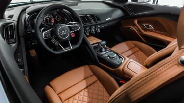 Audi R8 Spyder facelift - dash