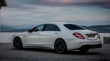 Mercedes S-class - rear three quarter