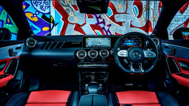 Mercedes-AMG CLA45 S interior