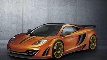 Mansory tuned McLaren MP4-12C