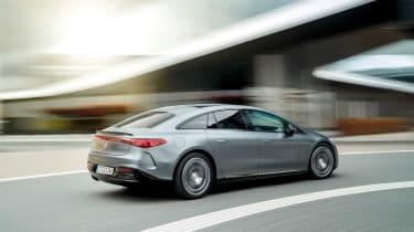 Mercedes-AMG EQS53 – rear quarter