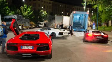Lamborghini 50th road trip