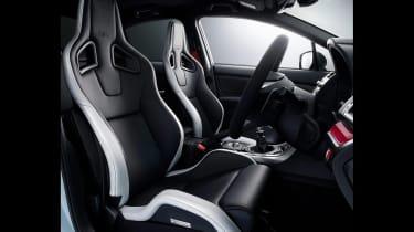 Subaru STI S208 - interior