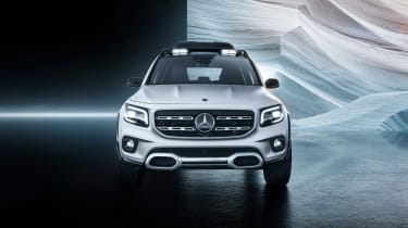 Mercedes GLB Concept - front