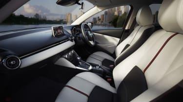 New Mazda 2 interior dashboard