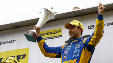 British Touring Cars Rockingham Jordan wins