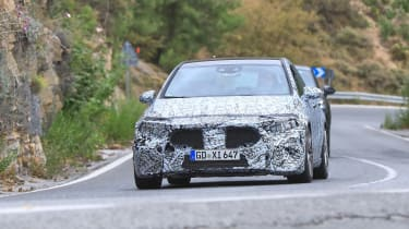 Mercedes-AMG A45 Spies - front