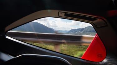 McLaren Senna door window