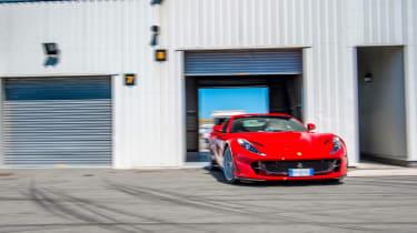 Ferrari 812 Superfast Anglesey - Garage
