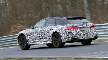 Audi RS6 Avant spied 2019 (body-on) - rear