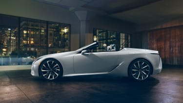 Lexus LC Convertible Concept side