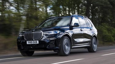 BMW X7 review - front tracking