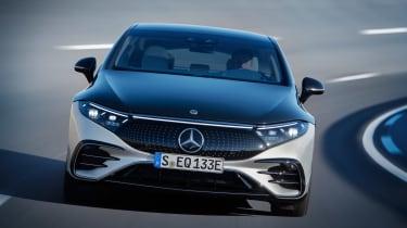 Mercedes-Benz EQS – nose
