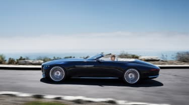 Vision Mercedes-Maybach 6 Cabriolet - side profile