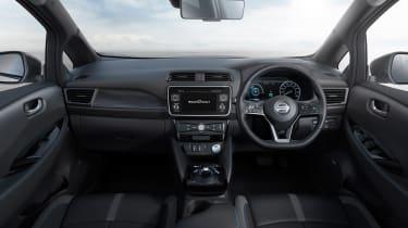 Nissan Leaf drive Japan - dash