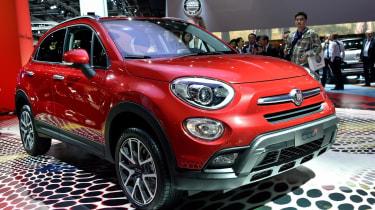 Fiat 500x: Paris motor show 2014