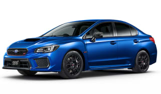 Subaru WRX STI Type RA-R - front quarter