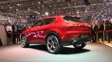 Alfa Romeo Tonale - rear quartrer