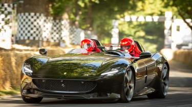 Ferrari Monza SP2 Goodwood side