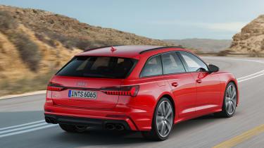 Audi S6 Avant - rear quarter