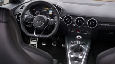 Audi TT S interior