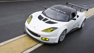 Lotus Evora GX race car unveiled