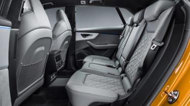 Audi Q8 TDI - back seats