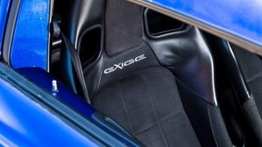 Lotus Exige S (S2) - seat