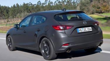 Mazda Skyactive X prototype - rear quarter