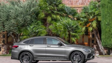 2019 Mercedes-AMG GLC 43 coupe side