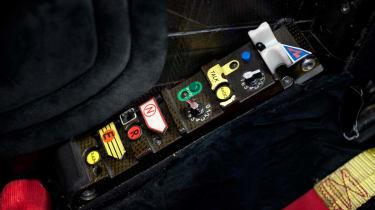 Michael Schumacher's Ferrari F1 car starter functions