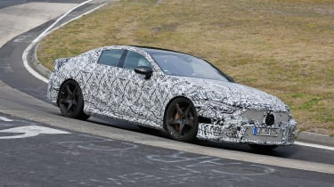 Mercedes-AMG GT Concept spy front