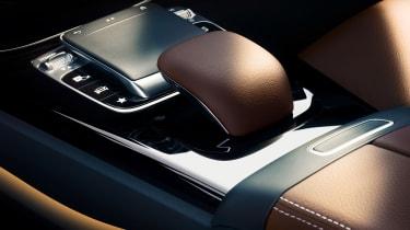 Mercedes A-Class 2018 interior gear shifter