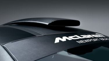 McLaren MSO X – roof scoop