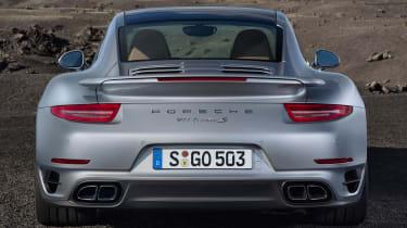 2013 Porsche 911 Turbo rear